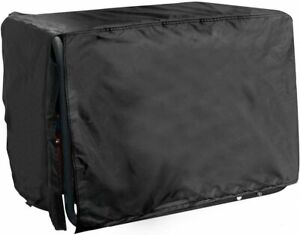 All Weather Protected Durable Black Generator Cover Medium 24 lx 22 w X 20 h