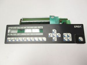 Ersa Bglm2d02 Lcd Display Board From Hotflow 3 Oven D sub 9 pin W membrane Panel