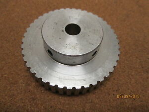 New 42xl037 X 3 8 Bore Aluminum Timing Pulley 42 Teeth 2 S s 1 5 Pitch