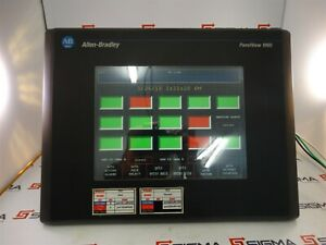 Allen bradley 2711 t10c20l1 Ser D Panelview 1000 Operator Interface Panel