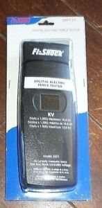 Fi shock Digital Electric Fence Tester Item Deft fs