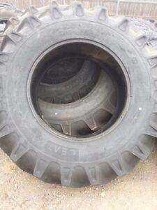 Two 18 4x30 12 Ply Ceat R 1 Tube Type Farm Tractor Tires Fit Ford Deere