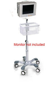 Rolling Stand For Datascope Passport Xg El Patient Monitor New big Wheel