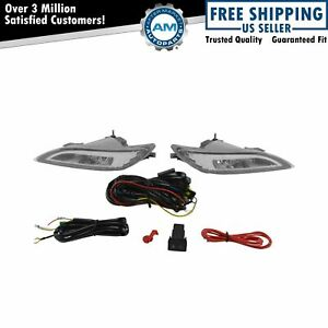 Add On Upgrade Clear Lens Led Fog Light Switch Wiring Kit Set For Pathfinder New