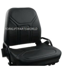 New Nissan Forklift Vinyl Seat Without Seat Switch