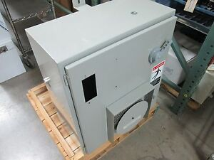 Control Cabinet For Bridgeport Knee Mill Dimensions 30 X 26 X 12 holes