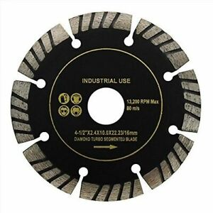 10pc Turbo Segment Cut Diamond Blade 4 1 2 Wet Dry General Tile Saw Concrete
