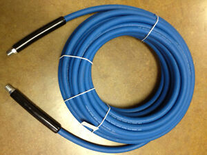 100 Carpet Cleaning High Pressure Solution Hose 1 4 Blue New 3000 Psi
