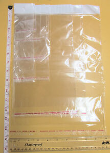 Self Adhesive Clear Resealable Cellophane Bag With Hang Hole cello Packaging