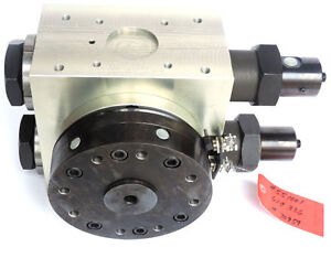 New Fibro 52 55 5 0090 104 04 Rotary Hydraulic Actuator 90 Deg For Load Arms