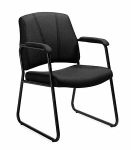 Black Otg11892 Guest Chair With Arms