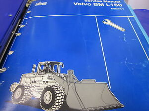 Volvo Bm L150 Wheel Loader Service Manual With Extra Manuals