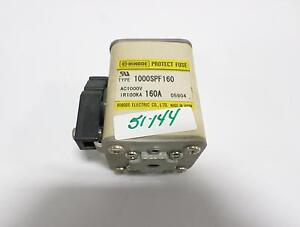 Hinode Electric Fuse 160 Amp 1000spf160