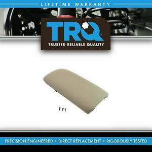 Trq Front Tan Center Console Lid For Ford Explorer Mercury Mountaineer Truck Suv