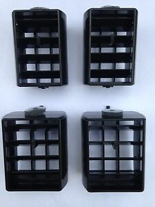 1978 88 Chevrolet Monte Carlo El Camino Malibu Dash Center Vent Black Set Of 4