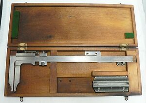 Grand Brand Made In Germany Caliper In Original Wooden Case