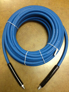 50 Carpet Cleaning High Pressure Solution Hose 1 4 Blue New 3000 Psi New