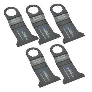 5 Pk Wood Oscillating Multi Tool Saw Blades Compatible With Fein Supercut Fb5a