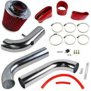 Performance Cold Air Intake Cai W Red Air Filter For 03 08 Dodge Ram Pickup 5 7
