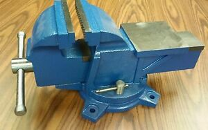 6 American Type Bench Vise With Swival Anvil Heavy Duty 850 8306 new