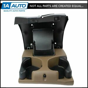 Oem Instrument Panel Dual Cup Holder Tan For 98 02 Dodge Ram Pickup Truck New