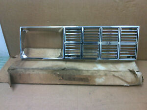 1984 Oldsmobile Omega Lh Driver Side Headlight Grille New Old Stock Oem