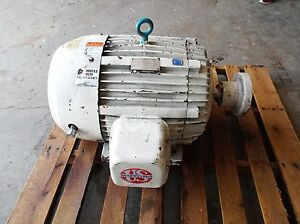 Us Electric 60 Hp Motor 1780 Rpm 230 460 Volt 3 Ph Frame 364ts used