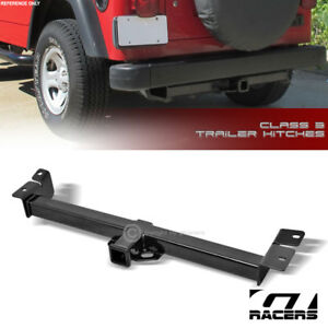 Class 3 Trailer Hitch Receiver Rear Bumper Towing 2 For 1997 2006 Jeep Wrangler