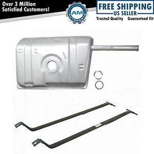 Fuel Gas Tank With Filler Neck And Strap Kit For Chevy Camaro Pontiac Firebird