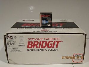 Harris Bridgit Brgt61 50 Rolls Silver nickel Bearing Solder Lead Free F sp Nisb