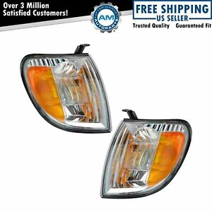 Corner Parking Turn Signal Light Lamp Left Right Pair Set For Tundra Truck