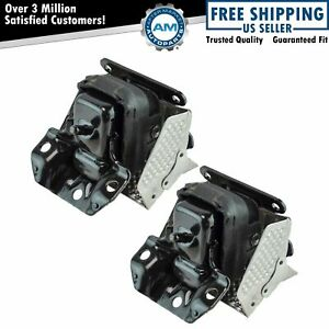 Oem 15854939 Engine Mount Lh Rh Kit Pair Set Of 2 For Gm Truck Suv New