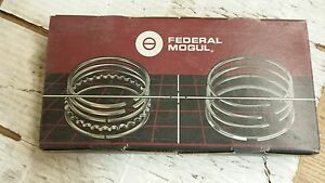 350 Oldsmobile Piston Rings 020 Over Cast 5 64 5 64 3 16