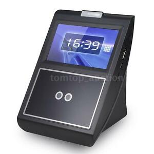 Face Recognition Employee Attendance Machine Manager Time Clock Checking Eu J9v5