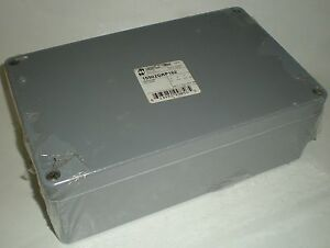 Hammond Fiberglass Non Metallic Enclosure Box 10 25 X 6 30 X 3 5 623980998565