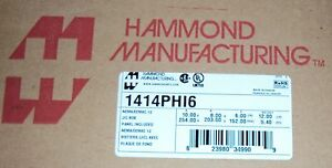 Hammond Metal Nema 12 Enclosure Box 1414phi6 10 X 8 X 6 623980349909