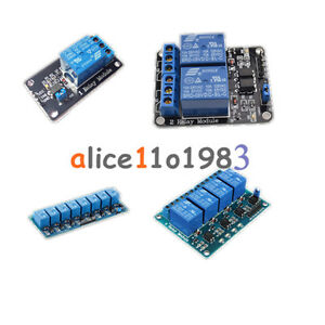 5v 1 2 4 6 8 Channel Relay Board Module Optocoupler Led For Arduino Pic Arm Avrc