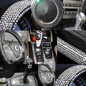 837pcs 3mm Bling Crystal Rhinestone Car Styling Sticker Decor Decal Accessories