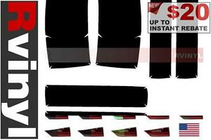 Rtint Tail Light Tint Precut Smoked Film Covers For Ford Mustang 1987 1993