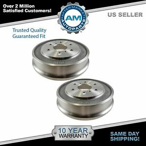 Nakamoto Rear Drum Brake Pair Set For 05 08 Chevy Silverado Gmc Sierra 1500