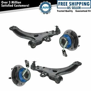 4 Piece Control Arm Hub Front Lower Kit For Buick Chevy Oldsmobile Pontiac