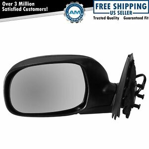 Folding Power Mirror Black Driver Side Lh Left For Toyota Tundra Sequoia