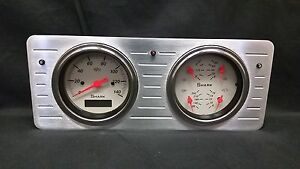 1940 1941 1942 1943 1944 1945 1946 1947 Ford Truck Quad Gauge Dash Cluster Shark