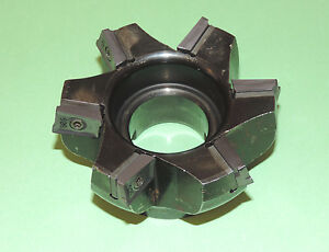 Iscar 4 Heavy Duty 75 Face Mill W New Inserts 3m F75ax D4 00 6 1 50 20