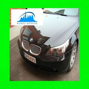 2004 2010 Bmw E60 5 Series Chrome Trim For Grill Grille 5yr Warranty