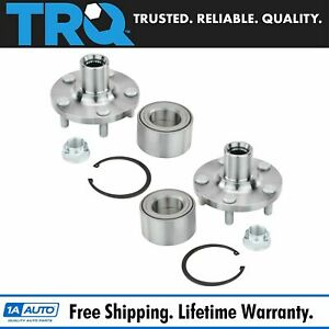 Trq Wheel Bearing And Hub Front Pair For Matrix Celica Corolla