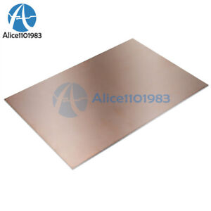 5pcs 10 15cm Fr4 1 5mm Thickness Double Pcb Copper Clad Laminate Board
