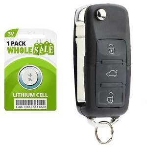 Replacement For 2002 2003 2004 2005 Volkswagen Golf Jetta Passat Key Fob Remote