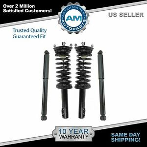 Shock Strut Assembly Front Rear Kit Set Of 4 For Jeep Grand Cherokee Commander
