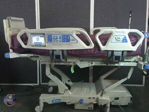 Hill rom Totalcare P1900 Sport 2 Ii Hospital Bed W 3 Modules Touch Screen